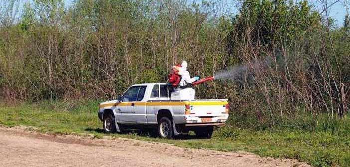 Συνεχίζονται οι ψεκασμοί κατά των κουνουπιών στη Μεταμόρφωση