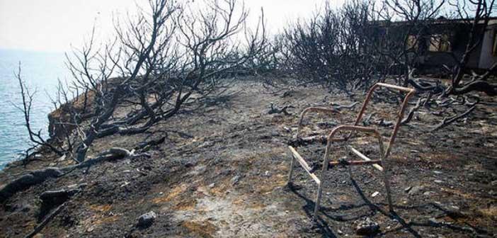 Όλα δείχνουν ότι η φωτιά στην Νταού Πεντέλης ξεκίνησε από έναν σωρό ξύλα που επιχείρησε να κάψει ασυνείδητος