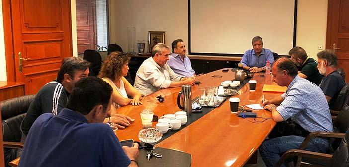 Συνάντηση δημάρχου Αμαρουσίου με το Σωματείο Εργαζομένων του Δήμου