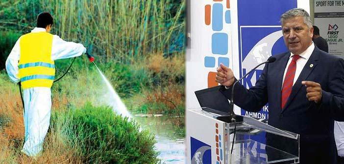 Γ. Πατούλης: Το πρόγραμμα ψεκασμών κατά των κουνουπιών έπρεπε να έχει ολοκληρωθεί έως τον Απρίλιο