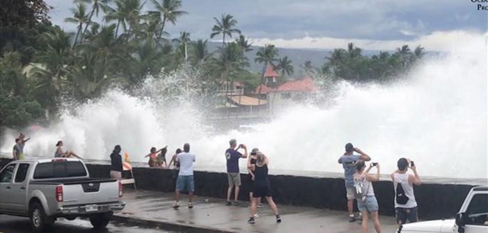 Σε κατάσταση εκτάκτου ανάγκης η Χαβάη εξαιτίας του τυφώνα Λέιν