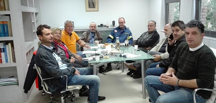 Διευρυμένη έκτακτη σύσκεψη της Πολιτικής Προστασίας Δήμου Βριλησσίων