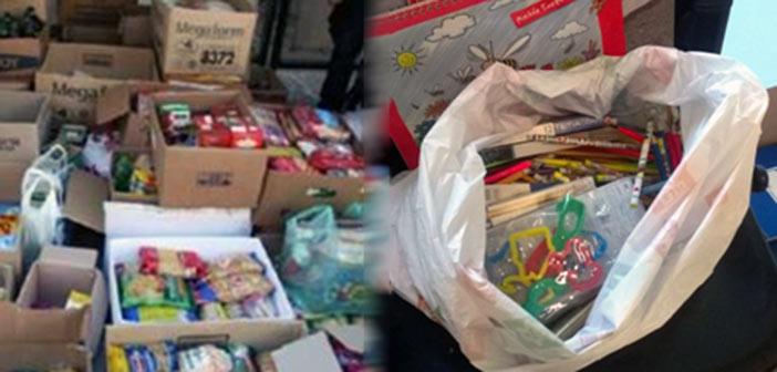 Διανομές προϊόντων και σχολικών ειδών σε άπορες οικογένειες από τον Δήμο Αγίας Παρασκευής