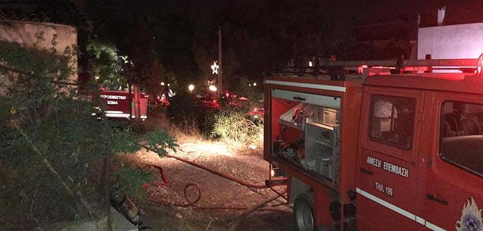 Δήμος Ηρακλείου Αττικής: Άμεση επέμβαση για την κατάσβεση της φωτιάς στη Λεωφ. Ηρακλείου