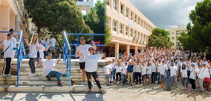 Άλλαξε όψη με τη βοήθεια της Janssen Ελλάδος το Σχολείο Κωφών & Βαρήκοων