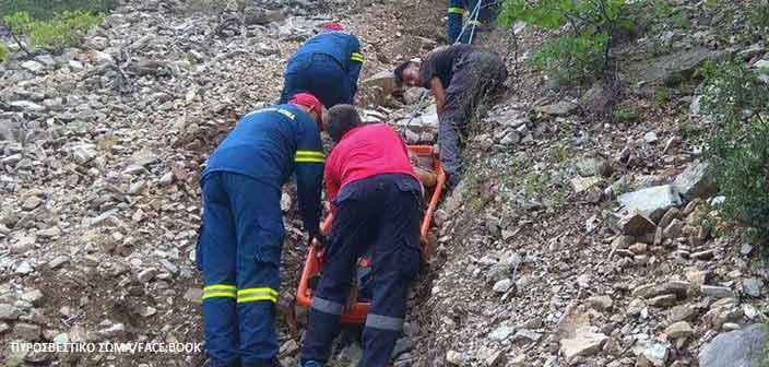 Γυναίκα τραυματίστηκε στην Πάρνηθα