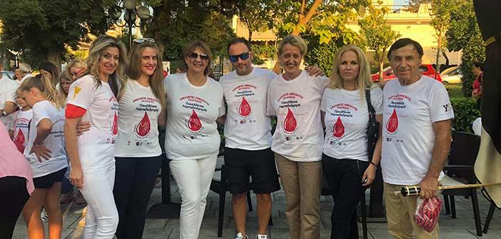 Στη 16η Πανελλήνια Λαμπαδηδρομία εθελοντών αιμοδοτών συμμετείχε ο Όμιλος για την UNESCO B.Π.