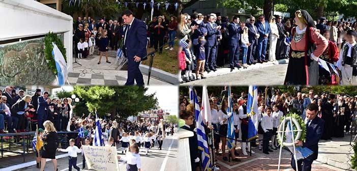 Με λαμπρότητα ο εορτασμός της 28ης Οκτωβρίου σε Λυκόβρυση και Πεύκη