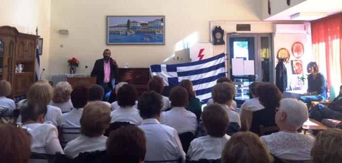 Τα μέλη του ΚΑΠΗ Αμαρουσίου γιόρτασαν την Εθνική Επέτειο της 28ης Οκτωβρίου