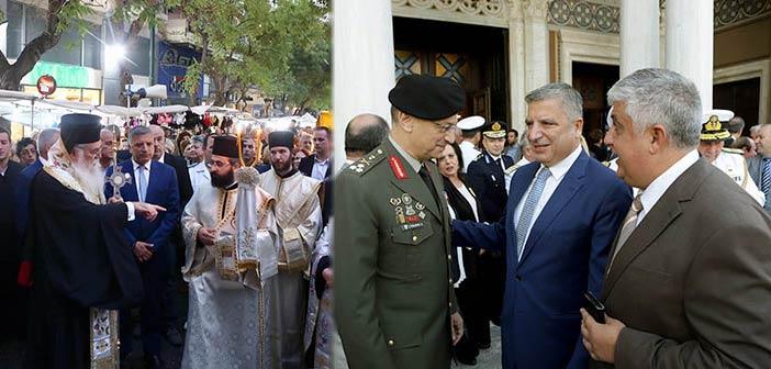 Στην ημέρα εορτασμού της Ελληνικής Αστυνομίας ο πρόεδρος της ΚΕΔΕ