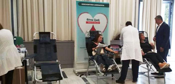Με 165 μονάδες αίματος ενισχύθηκε η Τράπεζα Αίματος του Δήμου Αμαρουσίου