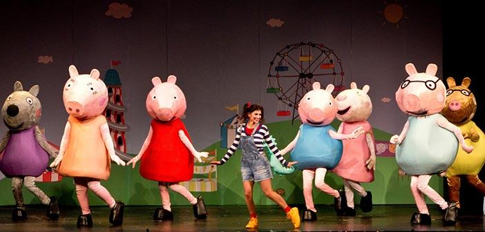 Η θεατρική παράσταση «Πέππα το Γουρουνάκι» σε Πεύκη, Χαλάνδρι, Ηράκλειο και Πειραιά
