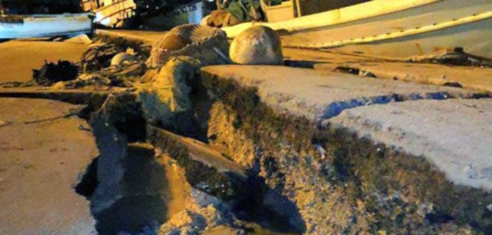 Σεισμός στη Ζάκυνθο: Υλικές ζημιές και τσουνάμι από τα 6,4 Ρίχτερ