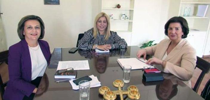 Συνάντηση Μ. Χρυσοβελώνη και Φ. Βρύνα για την προώθηση της ισότητας των φύλων