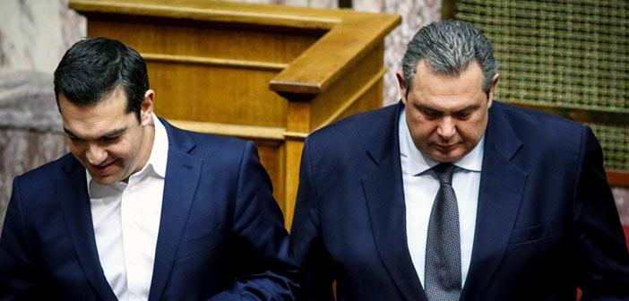 Με αμοιβαίες υποσχέσεις το νέο «σύμφωνο συμβίωσης» ΣΥΡΙΖΑ – ΑΝΕΛ