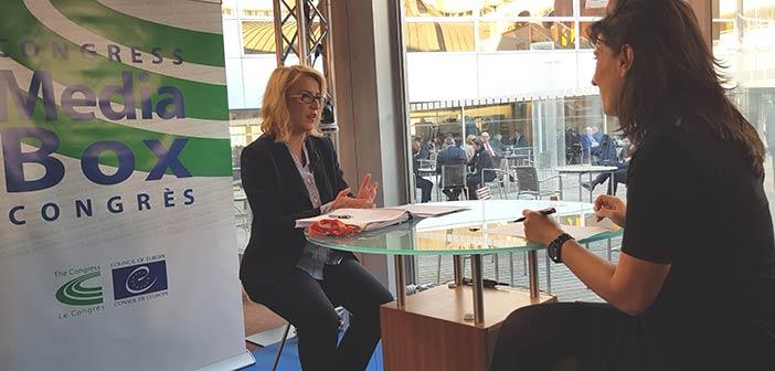 Συνέντευξη Ρ. Δούρου στο κανάλι του Κογκρέσου των Τοπικών και Περιφερειακών Αρχών