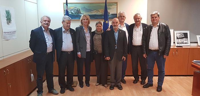 Συνάντηση Ρ. Δούρου με τουρκική αντιπροσωπεία της Ένωσης για την Ειρήνη και την Επικοινωνία στο Αιγαίο
