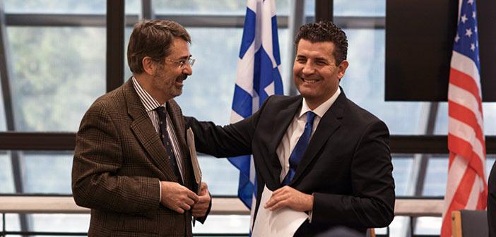 Για τις σχέσεις Ελλάδος και FYROM μίλησε στο Αμερικανικό Κολλέγιο ο Σωτ. Ησαΐας