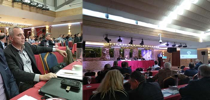 Σε συνέδριο της ΚΕΔΕ για τη διαχείριση στερεών αποβλήτων ο Βασίλης Καραβάκος