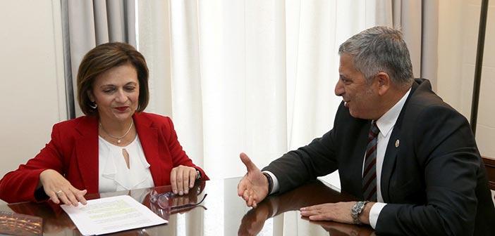 Ζητήματα που σχετίζονται με την ισότητα των φύλων συζήτησαν Μ. Χρυσοβελώνη και Γ. Πατούλης