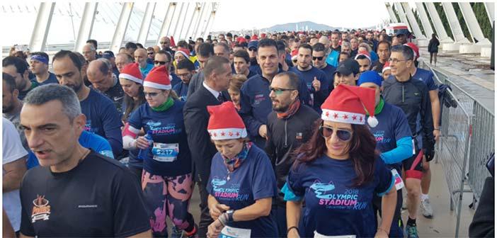 Περισσότεροι από 1.600 δρομείς πήραν μέρος στο 3ο Olympic Stadium Run
