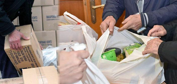 Διανομή προϊόντων σε δικαιούχους ΚΕΑ – ΤΕΒΑ Δήμου Χαλανδρίου