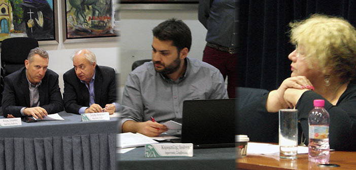 Π. Σαγρής, Μ. Καρανάσιου και Γ. Κορομπίλης «αδειάζουν» τον Κ. Βλάχο για την προσχώρησή του στην παράταξη Καραμέρου