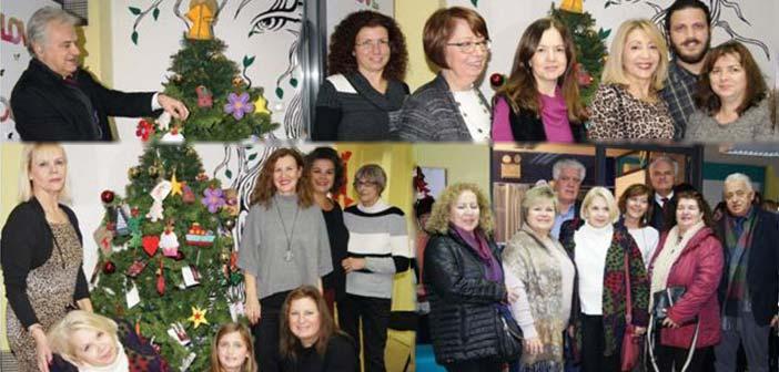 Το «Κέντρο Γυναίκας» Δήμου Αγίας Παρασκευής στόλισε το χριστουγεννιάτικο δένδρο του