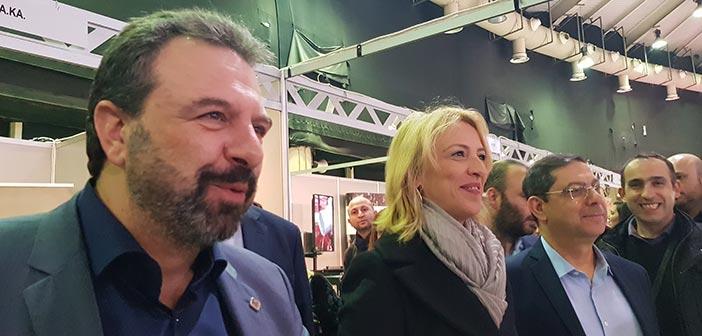 Η περιφερειάρχης Αττικής στην Athens Cannabis Expo 2019