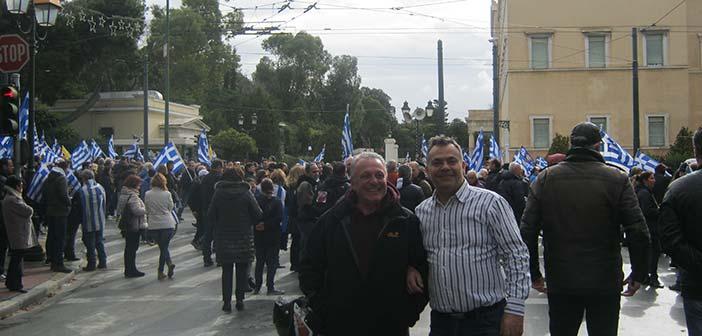Φ. Αλεξόπουλος: Είμαστε εδώ – Ο διαμελισμός της χώρας δεν θα περάσει