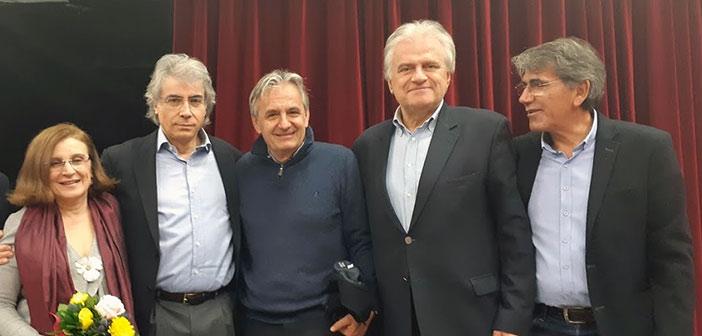 Ο Β. Γιαννακόπουλος στην εκδήλωση για τον Ανδρέα Μανωλικάκη
