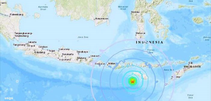 Ινδονησία: Νέος σεισμός 6,6 Ρίχτερ ανοικτά της νήσου Σουμπάουα