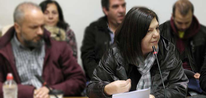 Εκ νέου υποψήφια δήμαρχος Χαλανδρίου με τη Λαϊκή Συσπείρωση η Λούλα Καρατζά