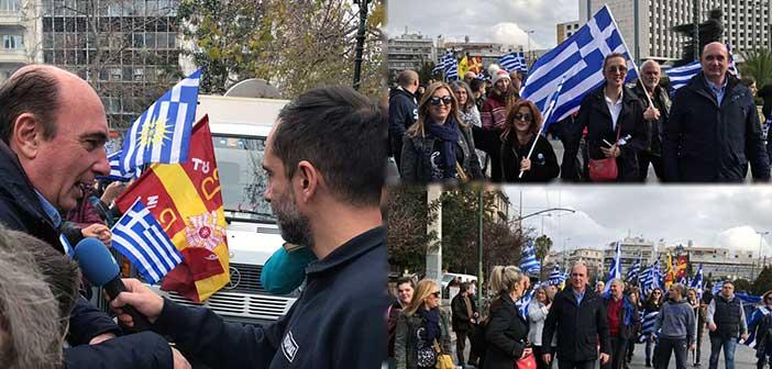 Γ. Κατσικογιάννης: Οι δημότες Πεντέλης ανταποκρίθηκαν στο κάλεσμα για τη Μακεδονία