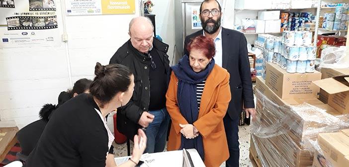 Παρουσία της Διαχειριστικής Αρχής του ΤΕΒΑ η διανομή επισιτιστικής βοήθειας από τον Δήμο Αμαρουσίου