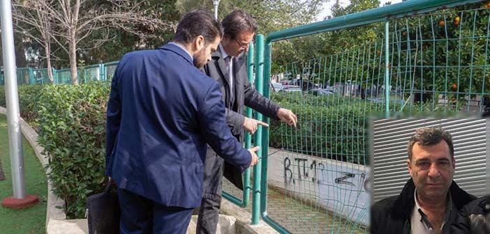 Γ. Νικολαράκος: Συγνώμη που άγχωσα τον κ. Κόκκαλη για τις παιδικές χαρές
