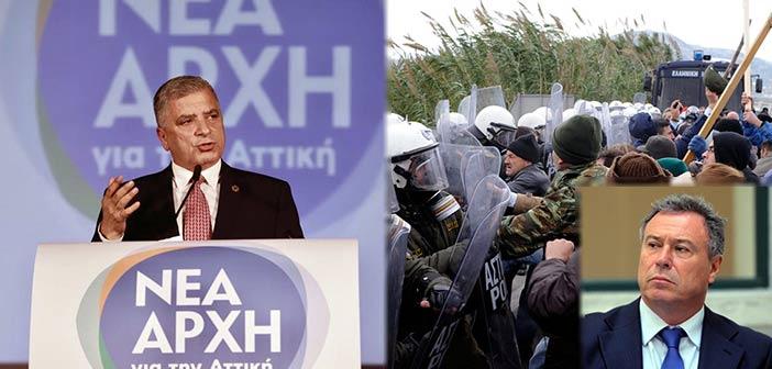 Γ. Πατούλης: Ματαίως ο κ. Σγουρός κρύβει την ανικανότητά του πίσω από τους εισαγγελείς