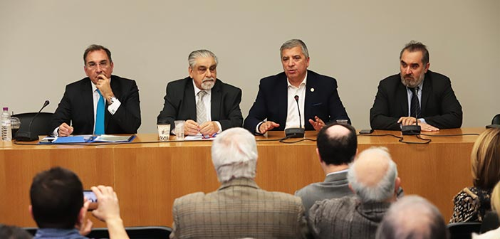 Ο Γ. Πατούλης σε συνέντευξη Τύπου της Παμμακεδονικής Συνομοσπονδίας κατά της Συμφωνίας των Πρεσπών