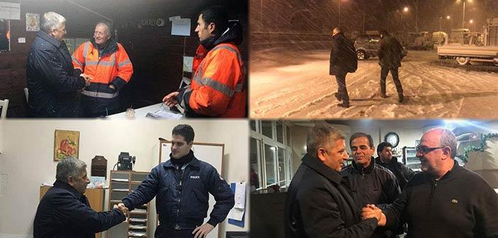 Κοντά στους ανθρώπους που εργάζονται για την οδική μας ασφάλεια ο υποψήφιος περιφερειάρχης Αττικής Γ. Πατούλης