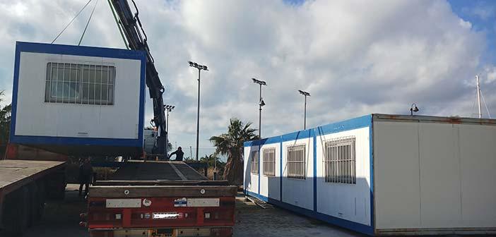 Το Κέντρο Logistics Περιφέρειας Αττικής απέστειλε 4 οικίσκους στον Δήμο Ραφήνας – Πικερμίου