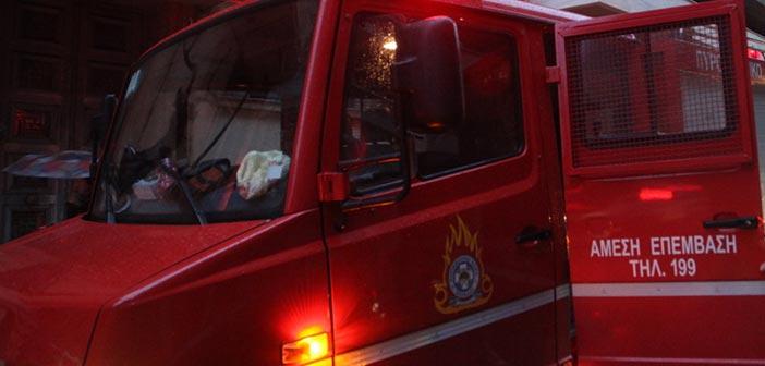Πυρκαγιά σε όχημα σε υπόγειο χώρο στάθμευσης στον Χολαργό