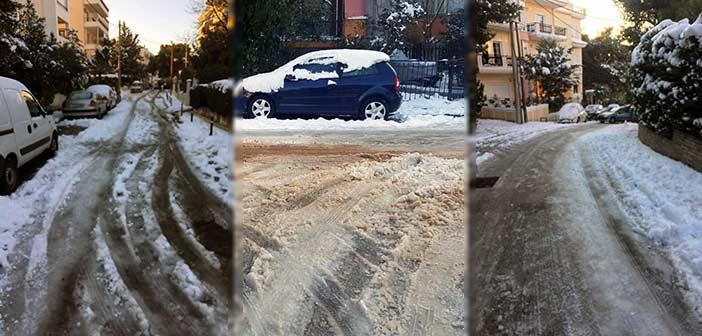 Συμπολιτεία: Αναποτελεσματική και κουρασμένη η δημοτική αρχή στην αντιμετώπιση του χιονιά στα Μελίσσια
