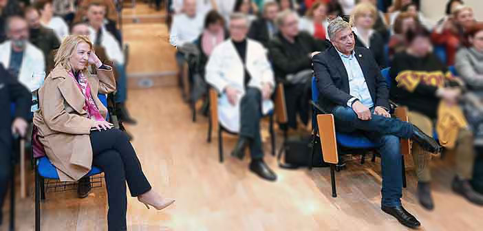 Ρ. Δούρου και Γ. Πατούλης μεγαλώνουν τη μεταξύ τους πολιτική απόσταση