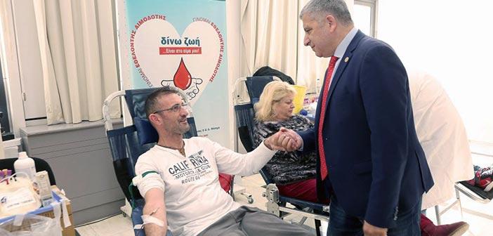 Με 186 φιάλες αίματος ενισχύθηκε η Δημοτική Τράπεζα Αίματος Αμαρουσίου