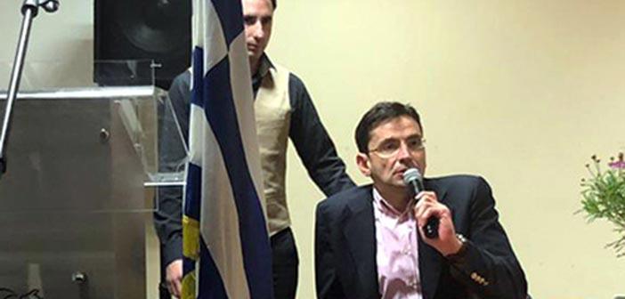 Σε εκδηλώσεις εθελοντών Πολιτικής Προστασίας σε Διόνυσο και Άνοιξη ο Ν. Πέππας