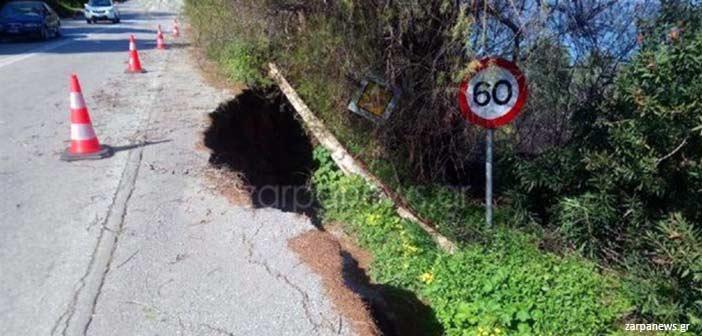 Χανιά: Ζημιές 40 εκατ. ευρώ σε 350 χλμ. του επαρχιακού οδικού δικτύου από την κακοκαιρία
