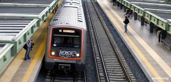 Αποκαταστάθηκε η κυκλοφορία στον ηλεκτρικό σιδηρόδρομο στο Ηράκλειο
