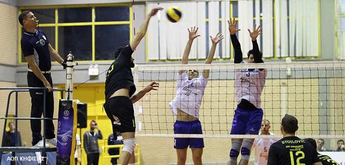 Volley League: Νίκη με ανατροπή για την Κηφισιά επί της ΑΕΚ με 3-1 σετ