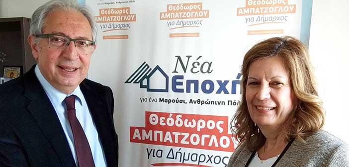 Υποψήφια με τον Θ. Αμπατζόγλου η Χρ. Θεοδωρίδου-Αλεξανδρίδου