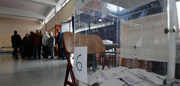Αύξηση του εκλογικού σώματος καταγράφεται στην Αγία Παρασκευή